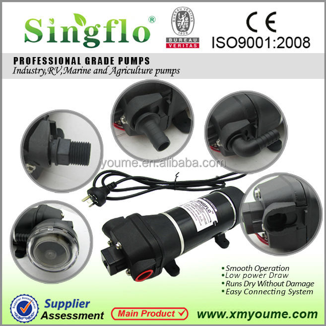 Singflo hot sale 220V AC small electric high flow water transfer pump