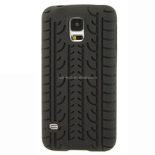Pure Color Tyre Silicone Case For Samsung Galaxy S5 i9600 G900
