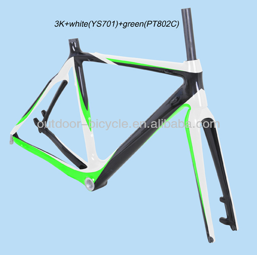 Professional cyclocross carbon bicycle frame FM059 with disc brake system