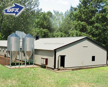 Light Steel Chicken Farm House And Prefab Poultry