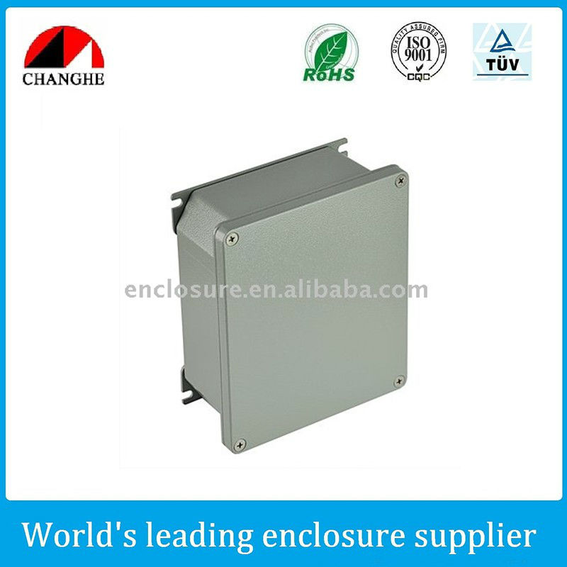 Aluminum outdoor enclosure
