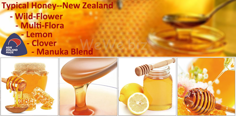 1Kg bottle New Zealand Honey (Lemon) Royal Honey Factory Shiping
