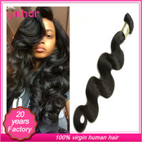 Top grade virgin wave remy hair from young girl original hair can be dyed factory price