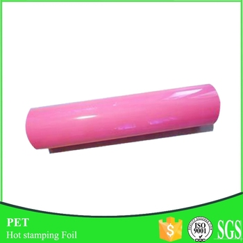 Polyester 12mic hot stamping foil