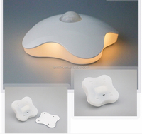 Night Light Four Leaf Clover Lamps Motion Sensor bedroom NightLight PIR Intelligent LED Human Body Motion Induction Lamp