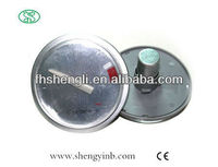 china good price bimetal round thermometer coil for solar/electric water heater