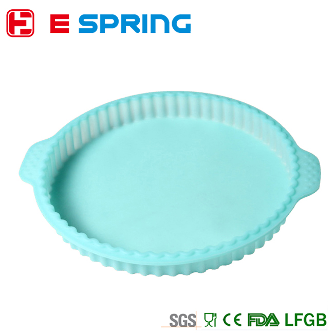 one big Silicone Round Corrugated CHOCOLATE CAKE SOAP MOLD MOULD BAKEWARE SILICONE PAN
