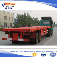 Customized 2 axle flatbed semi trailer truck for hot sale in Japan