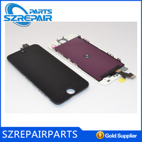 Replacement parts for iPhone 5 Battery Back Cover with No Parts - Black