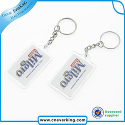 cheap promotional rubber engraved key chain with logo custom style