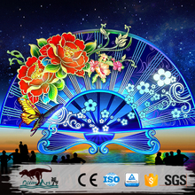 OA4142 colorful outdoor chinese new year lantern festival decoration for public show