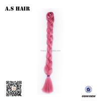Kinky Twist Jumbo Braid 100 Synthetic Braiding Afro Twist Braid for hair extension/weave