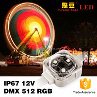wholesale CE RoHS approved 3535 smd 12VDC waterproof dmx 45mm pixel led