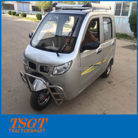 battery power factory supply auto rickshaw with rear view mirror and license light for passenger taxi use hot selling