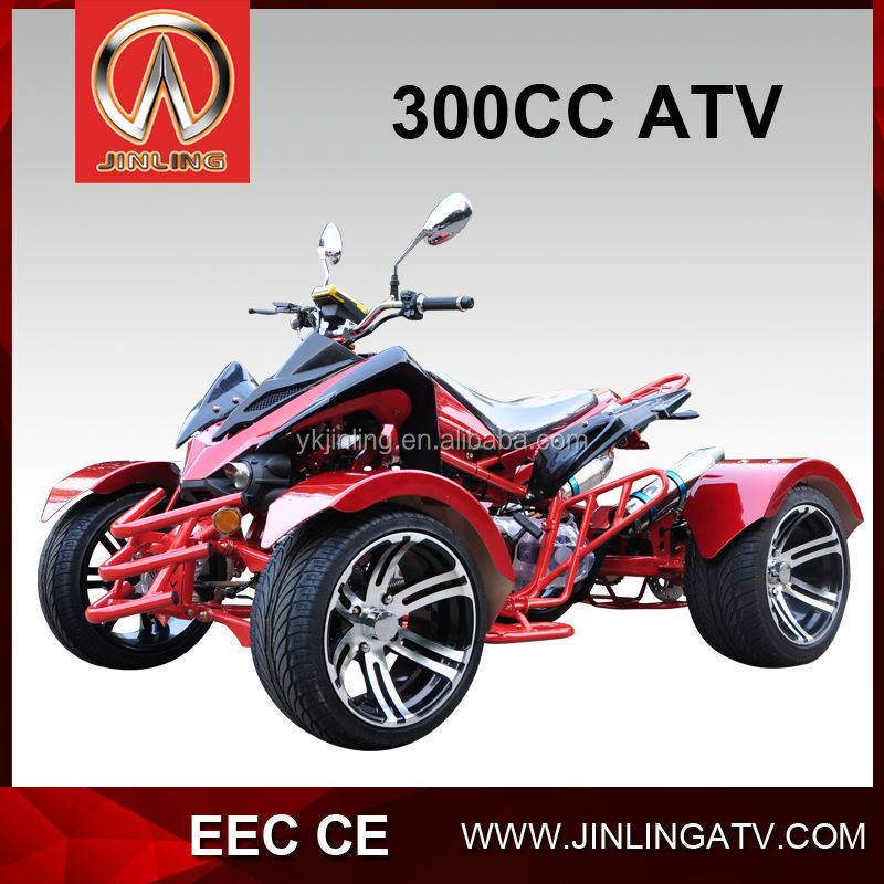 CVT automatic 300cc Road Legal atv four wheel motorcycle