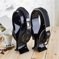 Acrylic computer earphone headphone holder stand for shop display home office use