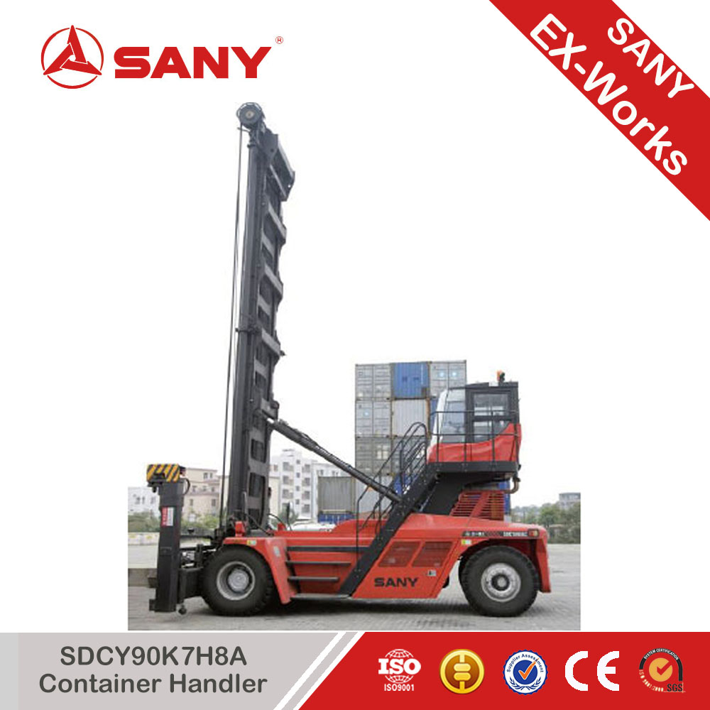 SANY SDCY90K7H8A Port Empty Container Handler for Sale Cargo Fall-off Protection Technology