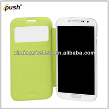 Popular Skylight Case For Samsung Galaxy S4 Mobile Phone Cover, For I9500 Folio Cover Case