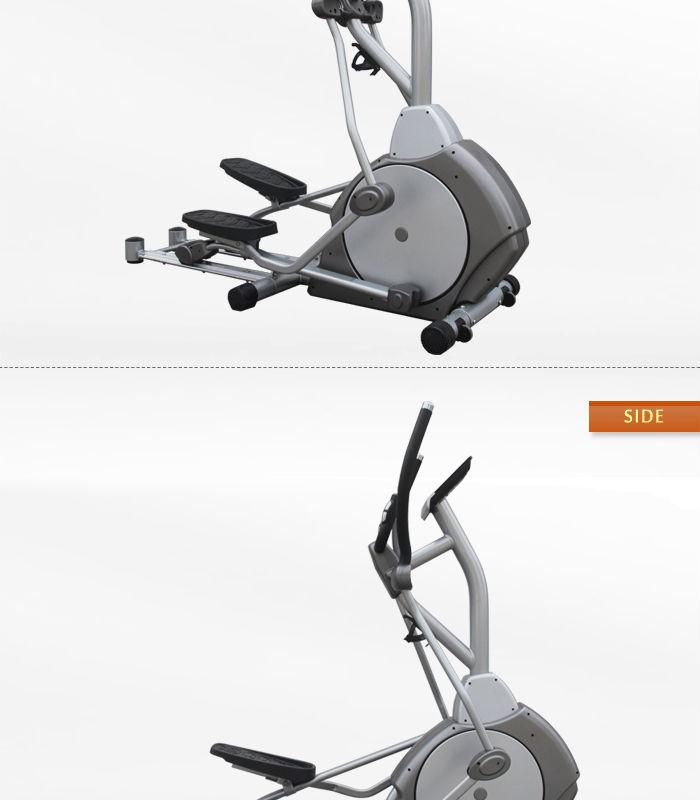 Elliptical Bike Commercial: BLE103 Light Commercial Elliptical_BFT Fitness