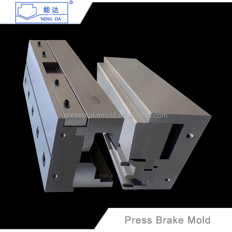 Metal mold making factory hydraulic cnc press brake mold and die