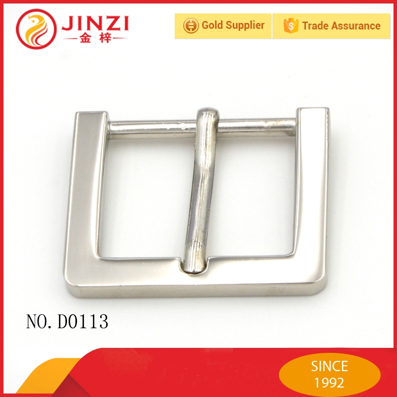 Various design one pin belt buckles on promotion