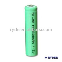 NIMH rechargeable battery AAA 1.2V 800mAh