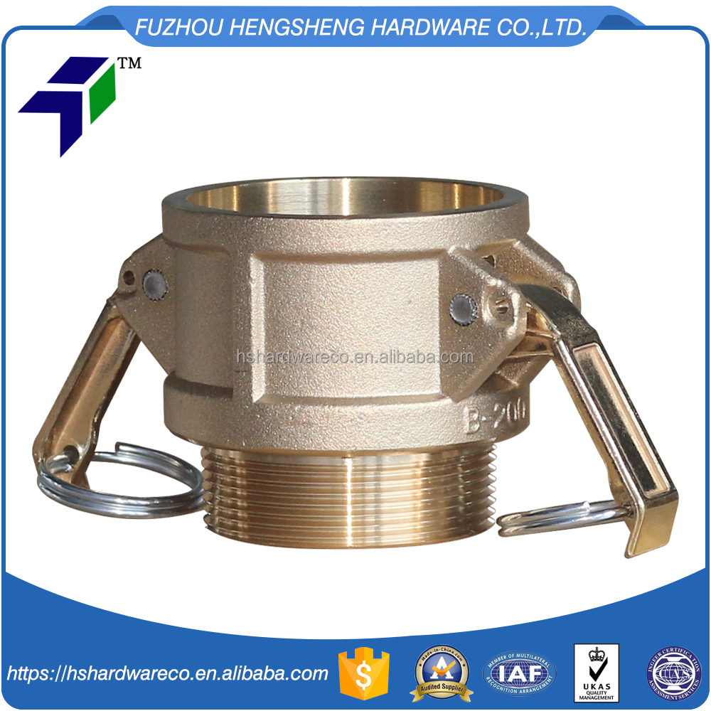 brass male pipe threaded end coupling