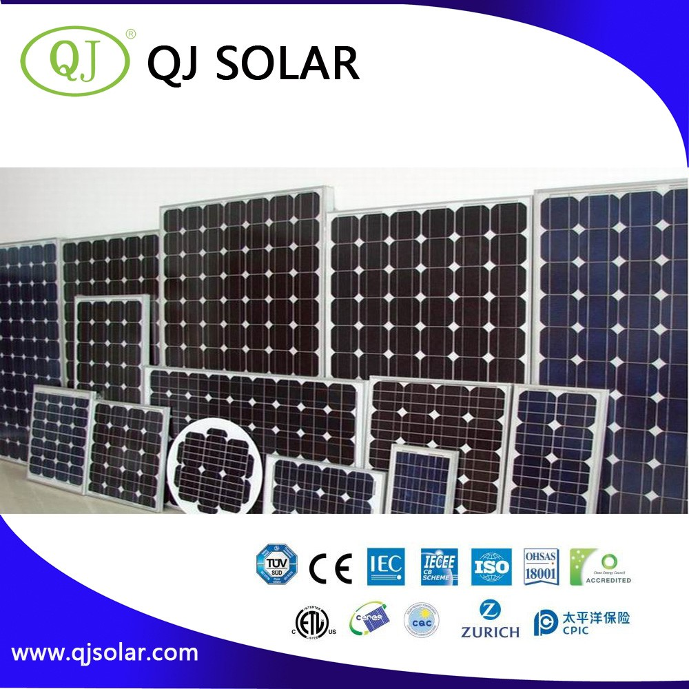 Low Price High Efficiency 60 Cells 72Cells 250 Watt Mono Solar Panel With TUV Certification