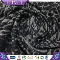Femei Knitting Jersey Fabric TR Burnout