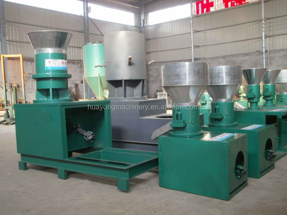 Animal feed pellet press machine