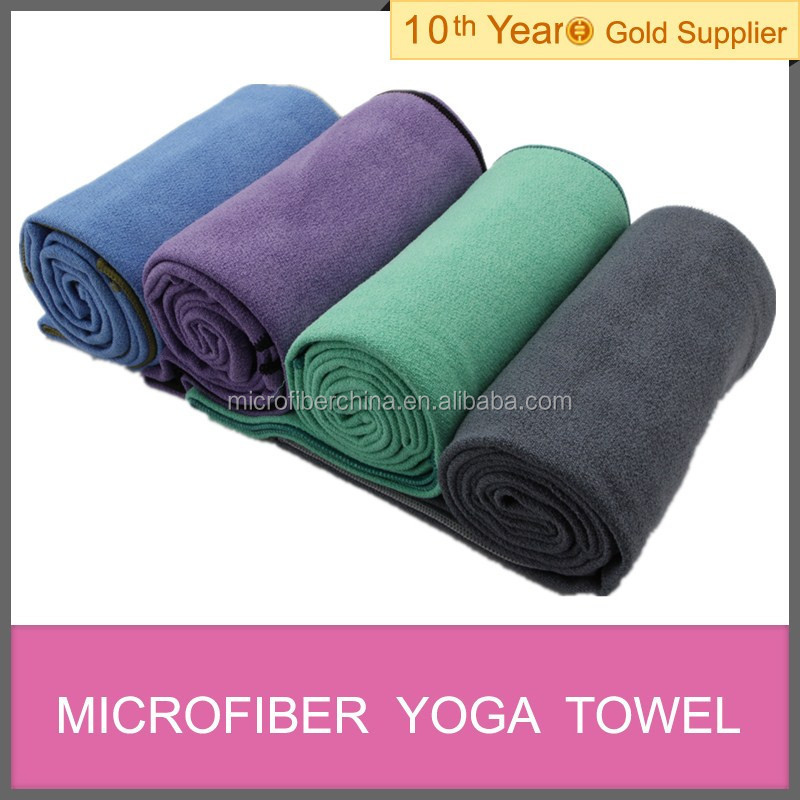 super thick yoga towel china manufacturer