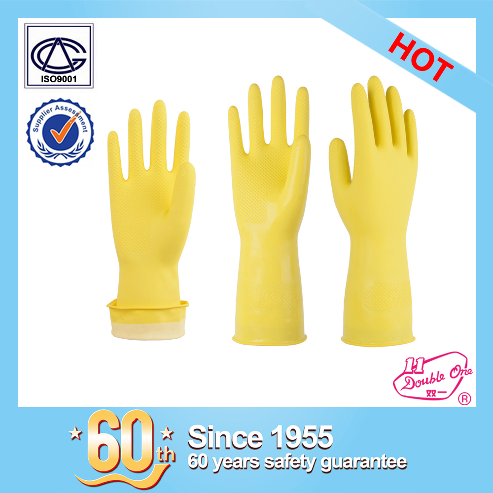 wholesale household garden rubber safety work latex glove