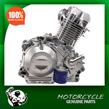 Motorcycle Engine 400cc with Balance Shaft , Zongshen Electric Start 400cc Motorcycle Engine for Sale