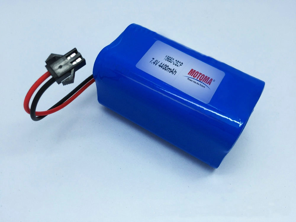 2 cells in series,2 cells in parallel Composed Type Lithium ion 18650 battery pack 11.1V for Bicycle headlight
