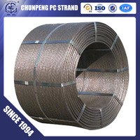 ASTM A416 pc steel strand for bridge construction