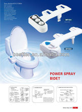 Bidet for cold and hot water