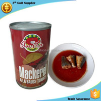 Chinese 155g canned mackerel fish directly from manufacturer
