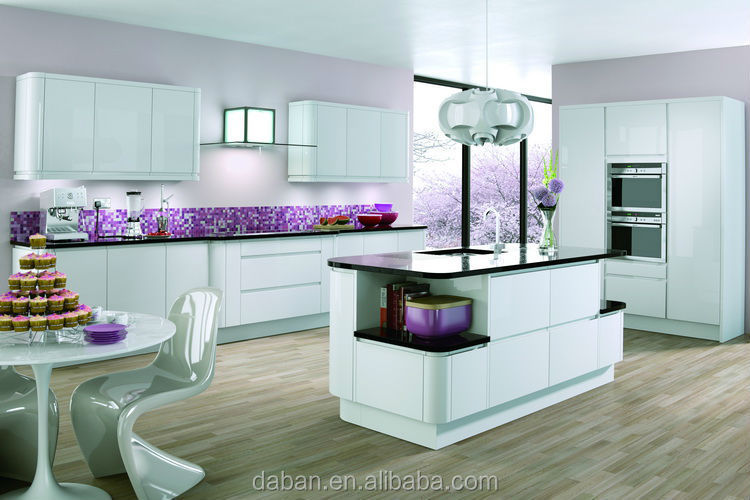 High Gloss Paint For Kitchen Cabinets high gloss painting mdf kitchen cabinet design - buy mdf kitchen