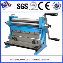 Universal shear brake roll 3-in-1 sheet metal forming machine
