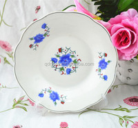 6/7/8/9 inch meat plate, hot sale ceramic dinner plates,hot new product cheap white porcelain dinner plate