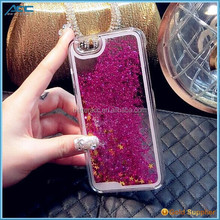 Bling 3D Moving Liquid Glitter Star Case For Iphone 6S