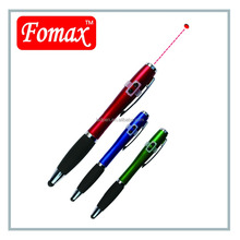 laser stylus touch screen pen with led light
