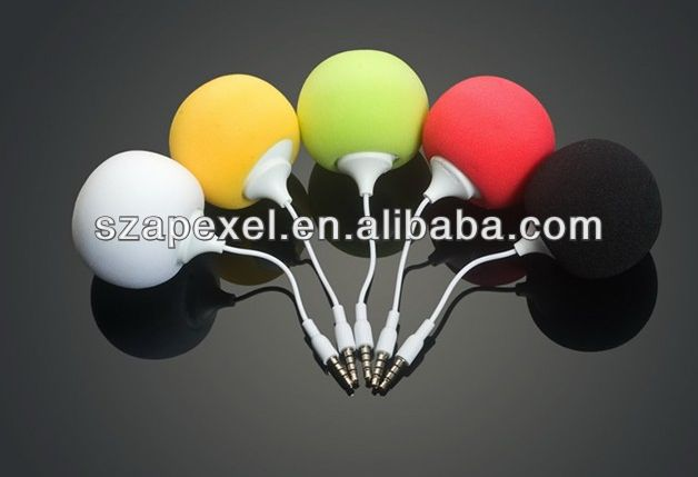 2013 Ball Audio Dock speaker suitable for all devices with 3.5mm audio jack