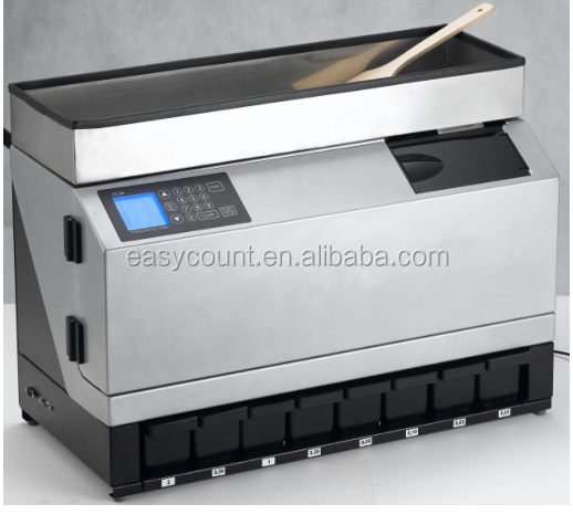 Ec98 auto euro coin counter buy coin counter coin sorter bank auto coin sorter product on - Sorting coin bank ...