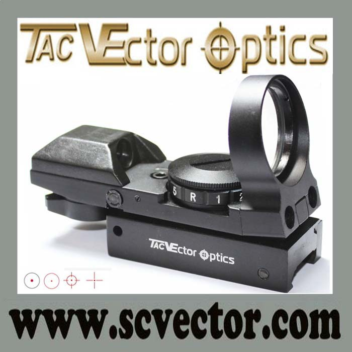 Vector Optics 1x28 Tactical Red Dot for Rifles