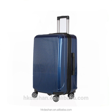 HK DA SHAN T8072 Custom Hot Sale new design Polycarbonate(100%PC) Luggage