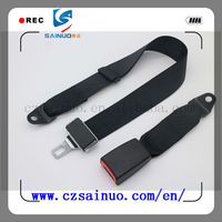 High quality two-point static safety belt or most car from china