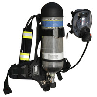 RHZK 6.8L Positive Pressure Air Breathing Apparatus SCBA self contained breathing apparatus