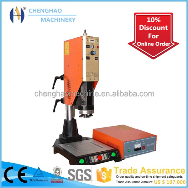 CHENGHAO Brand ultrasonic pvc file folder making machine