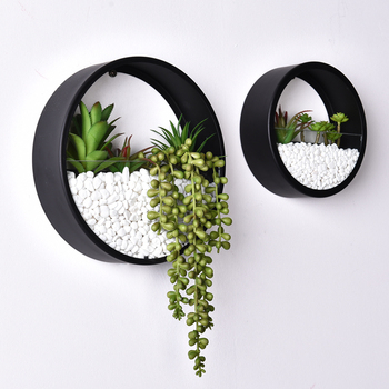 china factory hanging Planter wall decor art for Indoor Plants